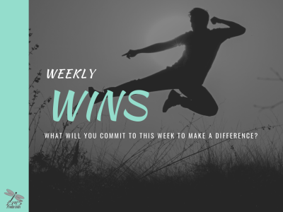 WEEKLY WINS (Mission Accomplished 9/10)